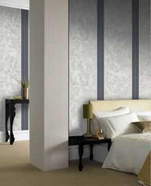 Graham & Brown Navy hounslow wallpaper
