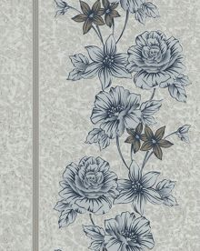 Graham & Brown Navy clancy wallpaper