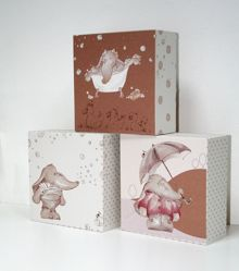 Graham & Brown Graham & Brown Eleflump Canvas Blocks