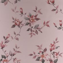 Graham & Brown Red Clemmie Floral Wallpaper