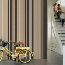 Graham & Brown Neutral Rico Striped Wallpaper