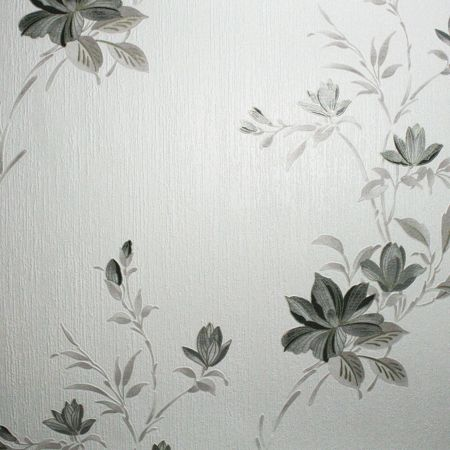Graham & Brown Charcoal Reed Wallpaper