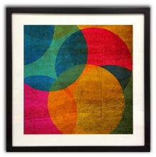 Graham & Brown Neon circle wall art