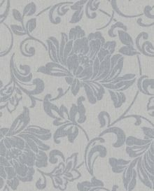 Graham & Brown Grey jacquard wallpaper