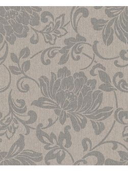 Natural jacquard wallpaper
