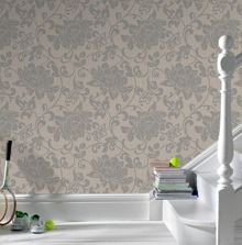 Graham & Brown Natural jacquard wallpaper