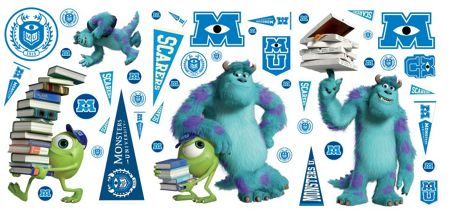 Monsters Value Stickers