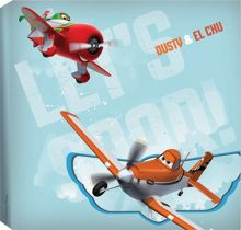 Planes Paper Printed Canvas