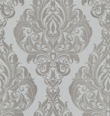 Graham & Brown Cream moonshine kinky vintage wallpaper