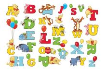 Graham & Brown Winnie the Pooh Alphabet Stickers