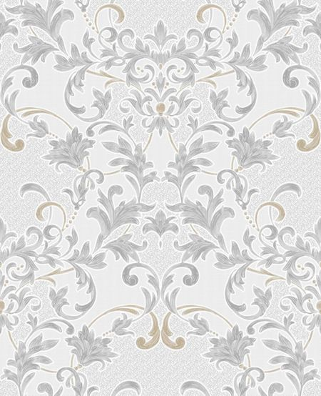 Graham & Brown Dove Cream Abigail Wallpaper