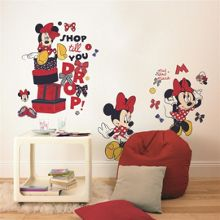 Graham & Brown Red Minnie Mouse Maxi Sticker