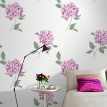 Graham & Brown Violet Mia Floral Wallpaper