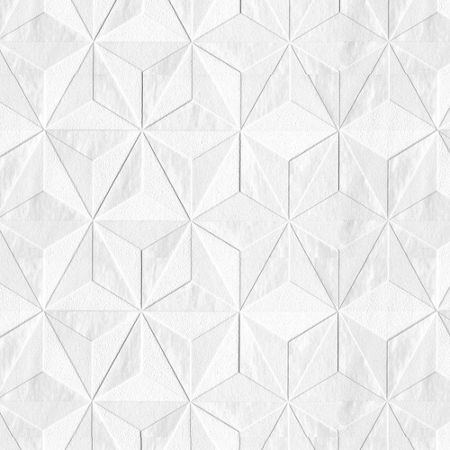 Graham & Brown White Mica Origami Wallpaper