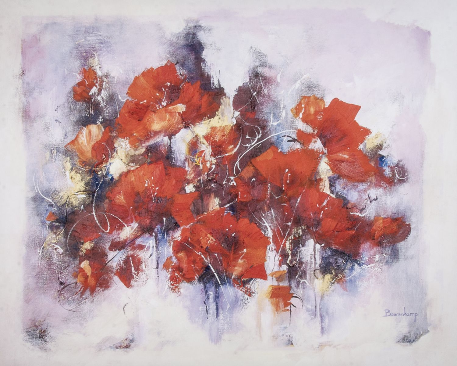 Poppies wallart