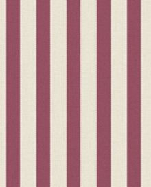 Graham & Brown Russet Ticking Stripe Wallpaper