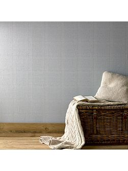 Graham & Brown Blue Tweed Skye Blue Wallpaper