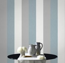 Blue Java Stripe Wallpaper