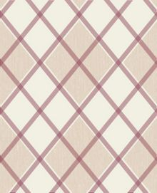 Graham & Brown Russet Argyle Wallpaper