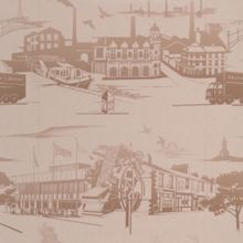 Graham & Brown Gold Northern Toile Wallpaper