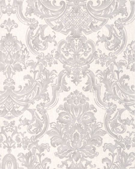 Graham & Brown Silver Montague Wallpaper