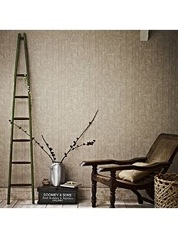 Taupe Driftwood Wallpaper