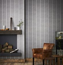 Graham & Brown Charcoal Prairie Wallpaper