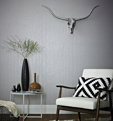 Graham & Brown Taupe Savanna Wallpaper