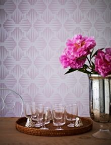 Graham & Brown Lavender Cavern Wallpaper
