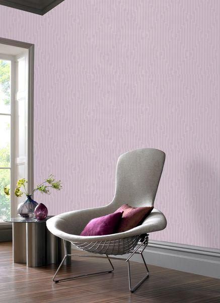 Graham & Brown Lavender Strata Wallpaper