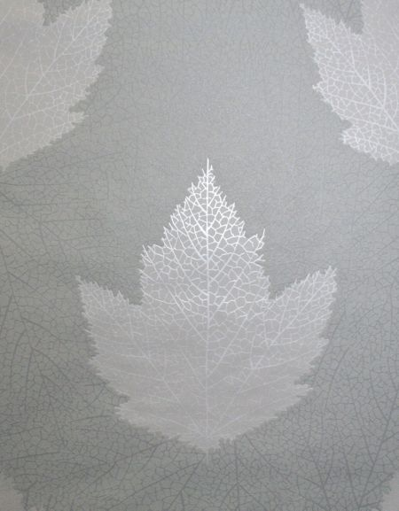 Graham & Brown Charcoal Maple Wallpaper