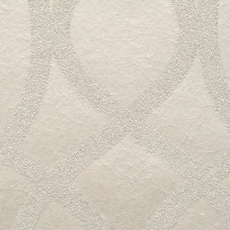 Graham & Brown Cream Shimmer Kelly Hoppen Knightsbridge Bead Wal