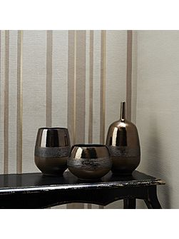 Gold Kelly Hoppen Stripe Wallpaper