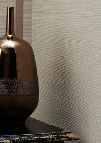 Graham & Brown Taupe Shimmer Kelly Hoppen Linen Texture Wallpape
