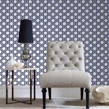 Graham & Brown Blue Kelly Hoppen Enigma Wallpaper