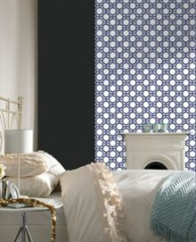 Blue Kelly Hoppen Enigma Wallpaper