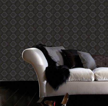 Graham & Brown Noir Kelly Hoppen Enigma Wallpaper