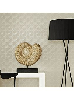 Taupe Kelly Hoppen Enigma Wallpaper