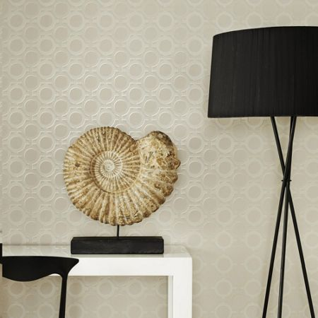 Graham & Brown Taupe Kelly Hoppen Enigma Wallpaper