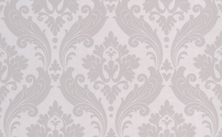 Graham & Brown Soft Grey Kelly Hoppen Vintage Flock Wallpaper