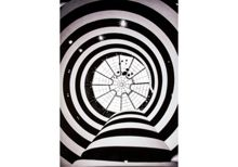 Graham & Brown Guggenheim Spirals Printed Canvas