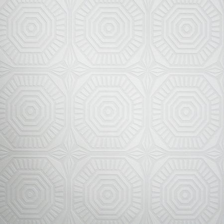 Graham & Brown White Kelly Hoppen Geo Panel Wallpaper