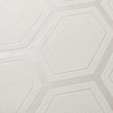 Graham & Brown White / Mica Chamonix Wallpaper