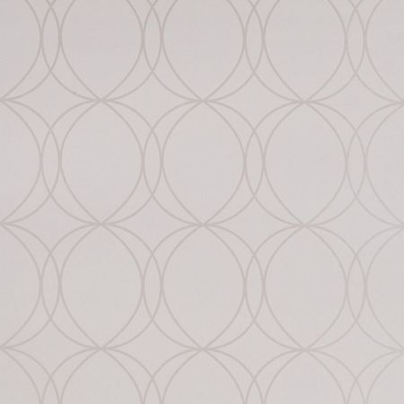Graham & Brown White / Mica Savoy Wallpaper