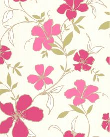 Graham & Brown Raspberry Rapture Wallpaper