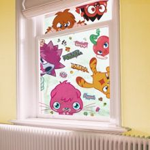 Graham & Brown Moshi Monsters Static Window Stickers
