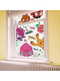 Moshi Monsters Static Window Stickers