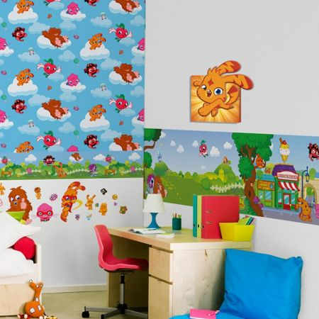 Graham & Brown Moshi Monsters 3D Printed Canvas
