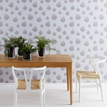 Graham & Brown Fossil Leaf wallpaper