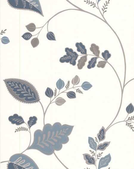 Graham & Brown Blue Folklore Wallpaper